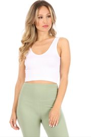 Suzette Collection Cami Yoga Top - Front cropped