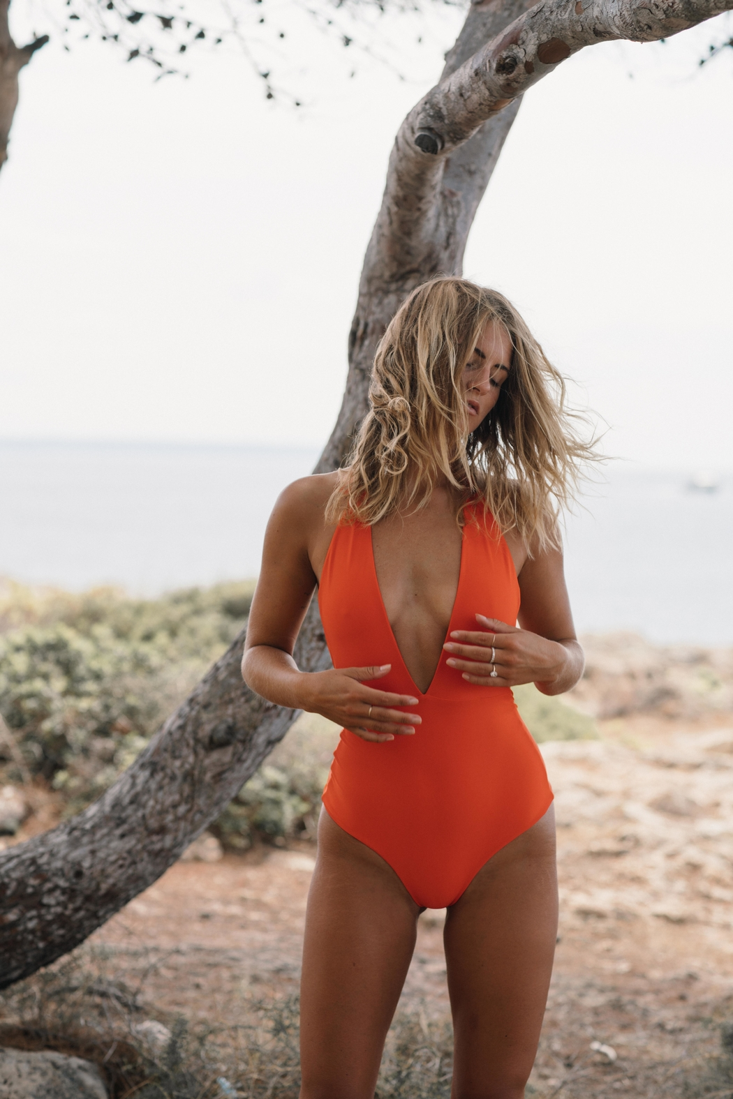 Cami and Jax Nage One-Piece - Back Cropped Image