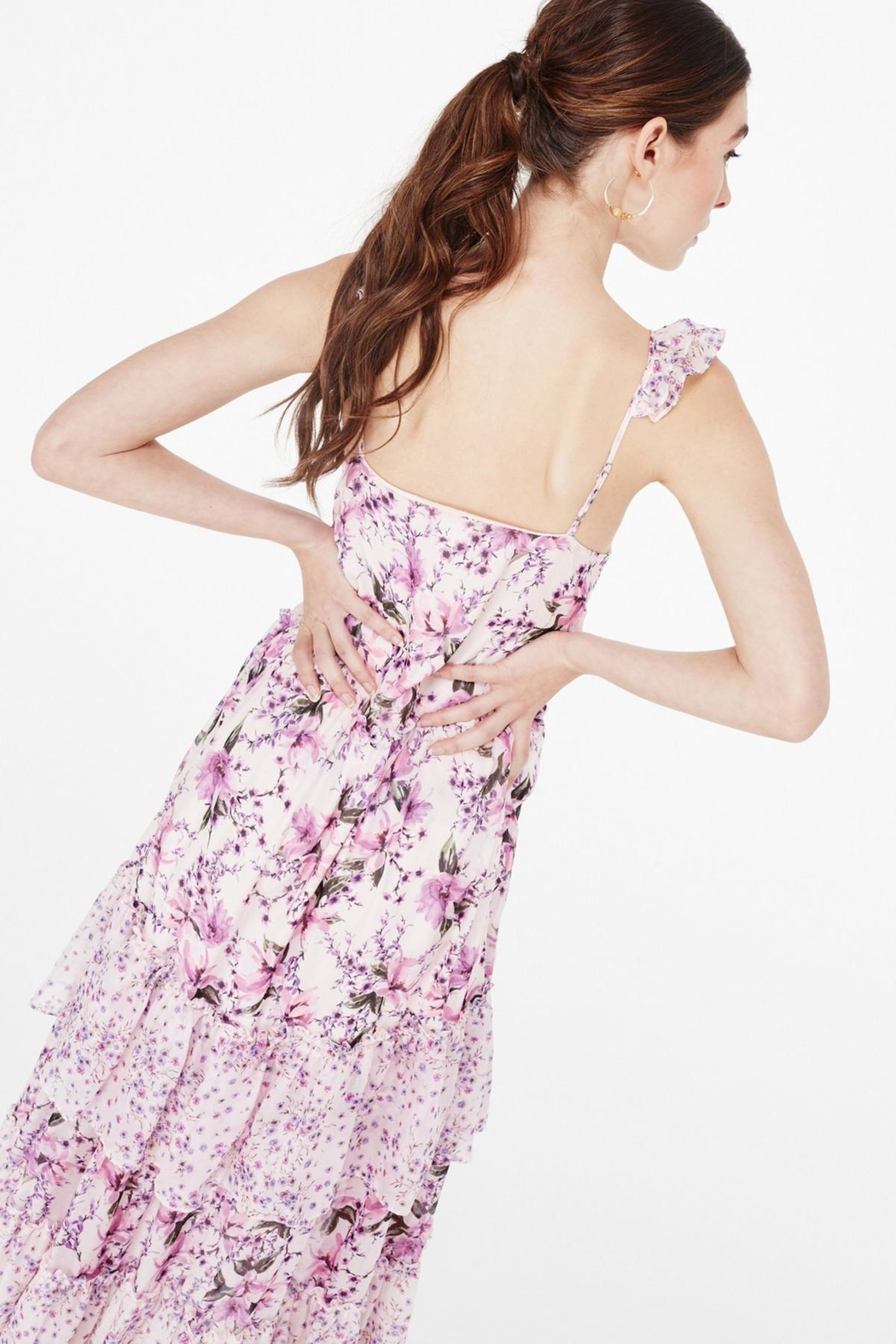 Cami NYC Angela Pink Azalea Wallflower - Back Cropped Image