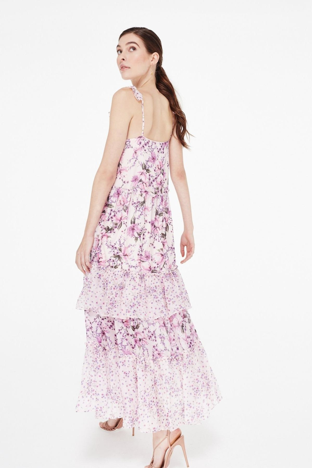 Cami NYC Angela Pink Azalea Wallflower - Side Cropped Image