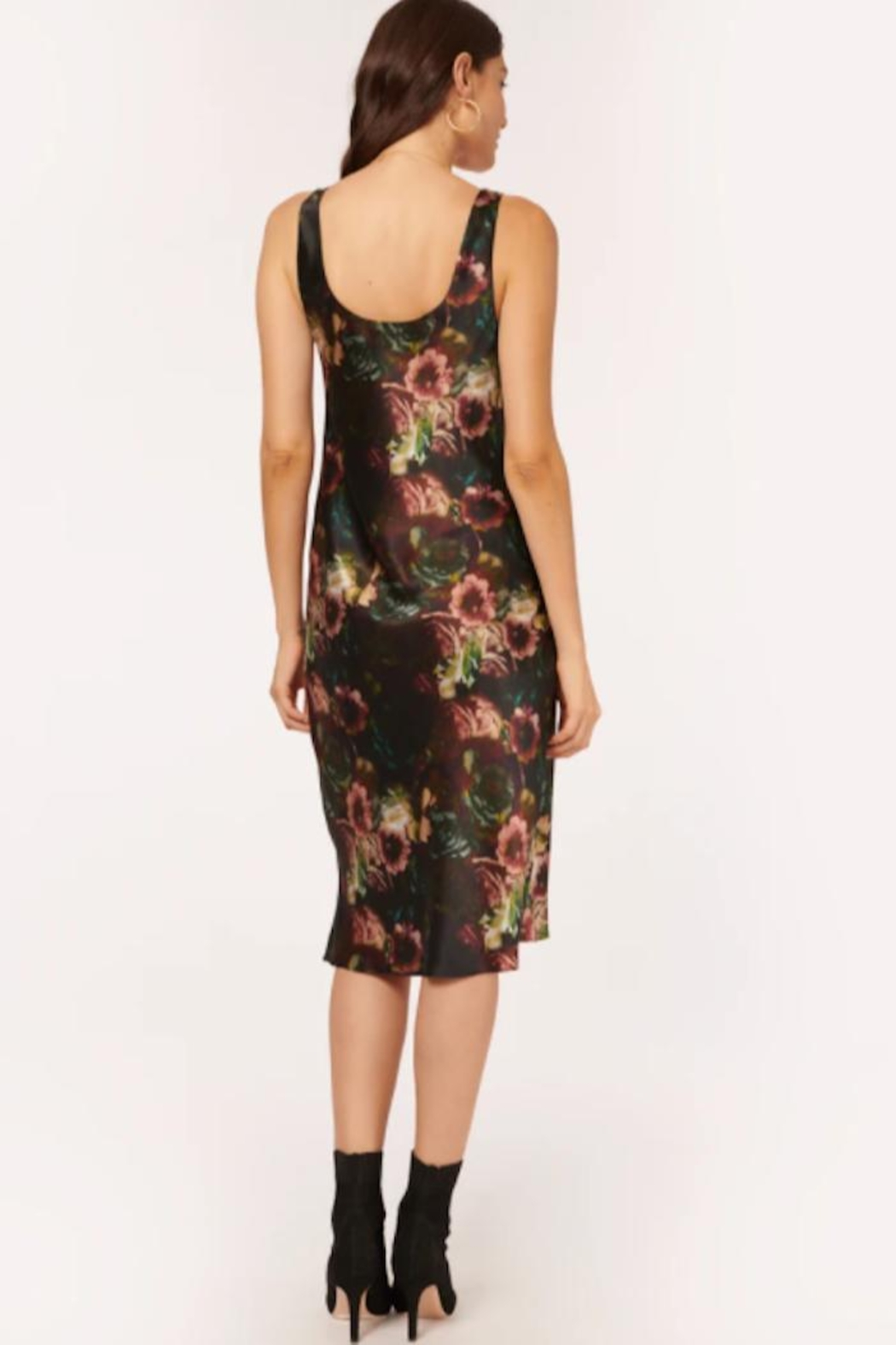 Cami NYC Britt Dress In Painterly Floral - Side Cropped Image