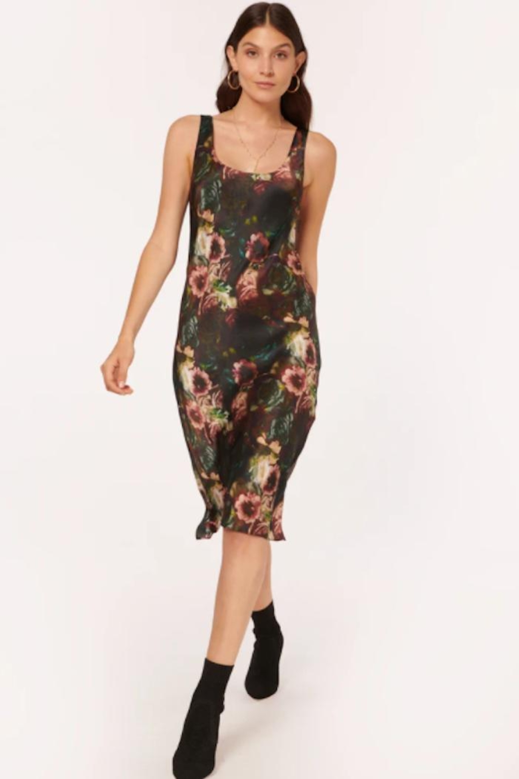 Cami NYC Britt Dress In Painterly Floral - Main Image