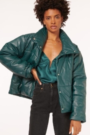 Cami NYC Cecilia Vegan Leather Coat - Front cropped