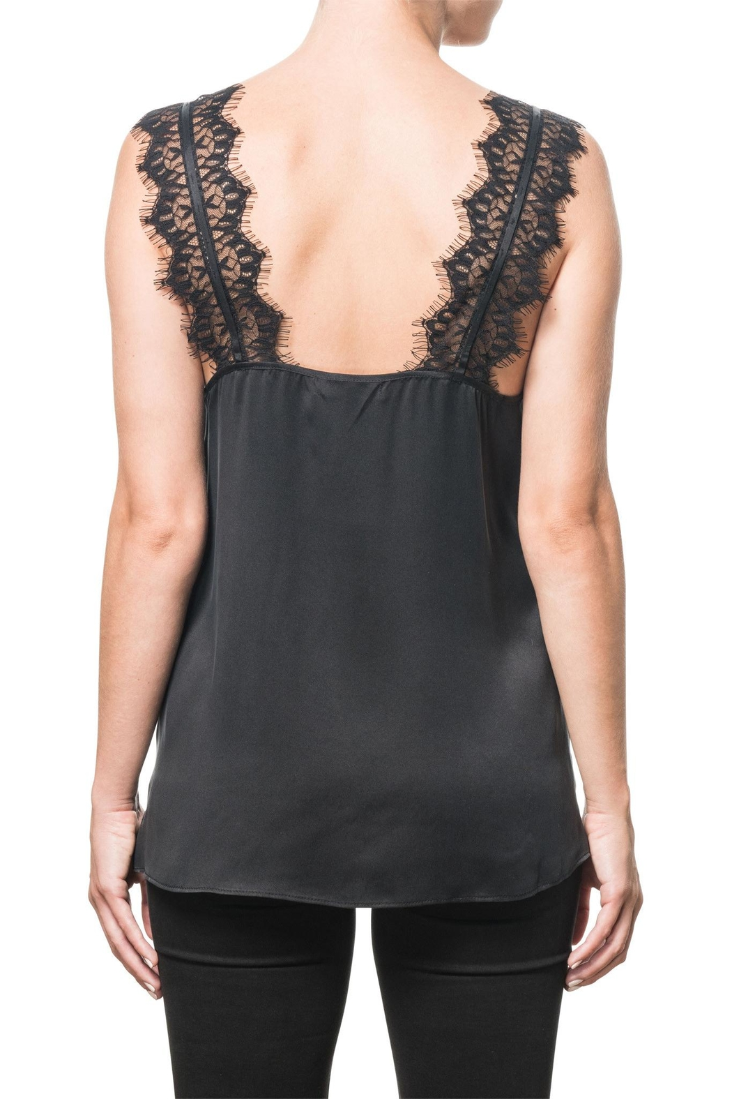Cami NYC Charmeuse Lace Camisole - Front Full Image
