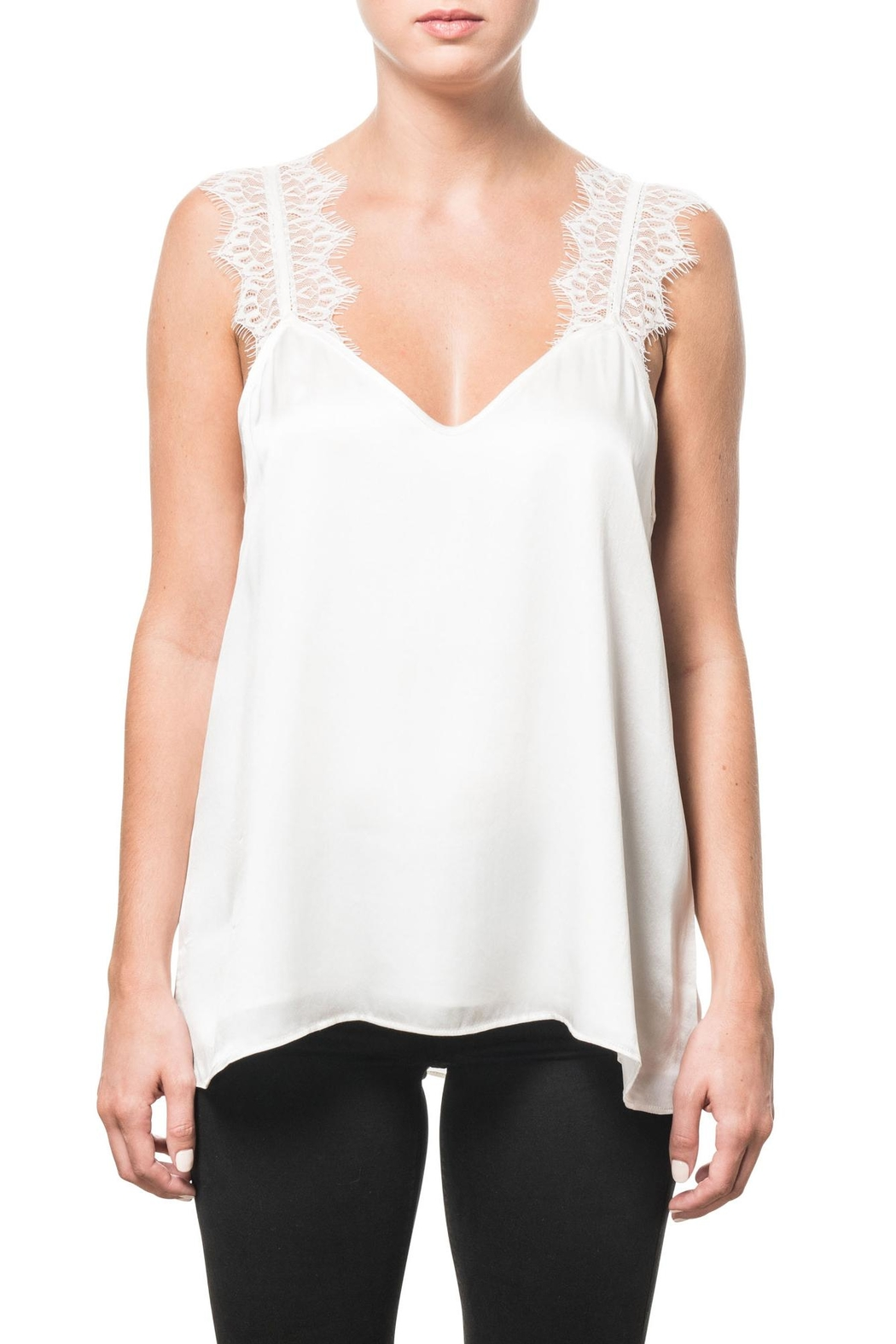 Cami NYC Charmeuse Lace Camisole - Main Image