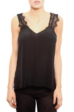 Shoptiques Product: Black Silk Top