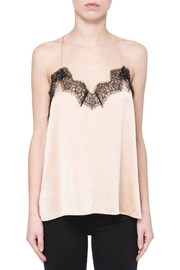 Cami NYC Contrast Lace Silk Camisole - Product Mini Image