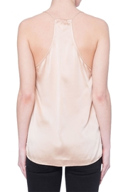 Cami NYC Contrast Lace Silk Camisole - Front full body