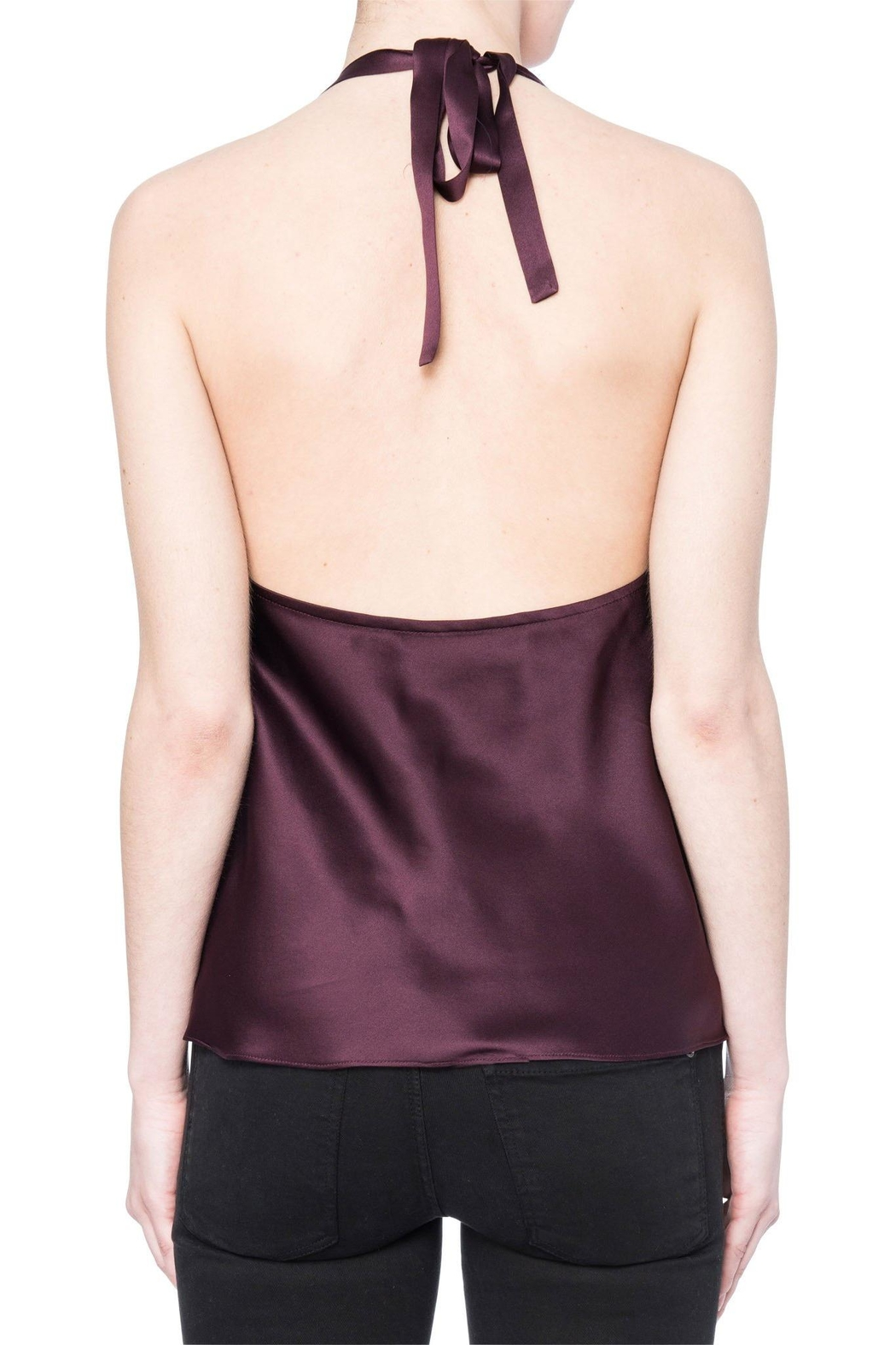 Cami NYC Cowl Neck Halter Cami - Front Full Image