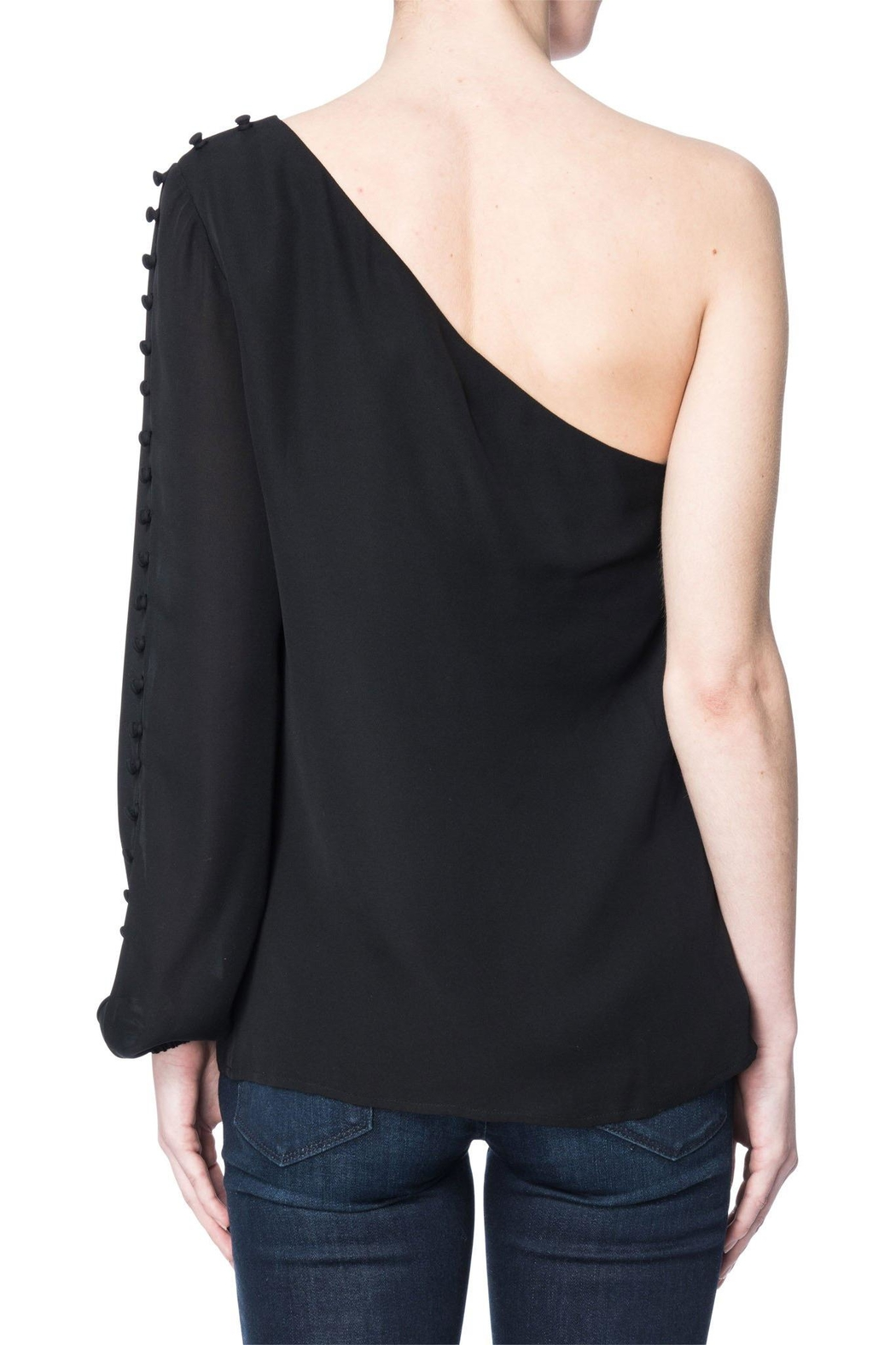 Cami NYC One Shoulder Blouse - Front Full Image