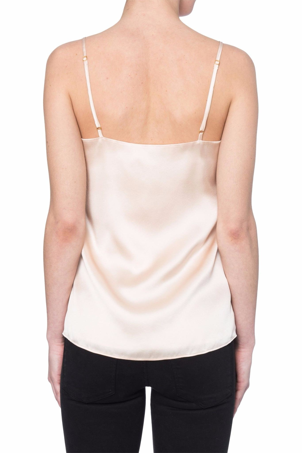 Cami NYC Pink Silk Cami - Front Full Image