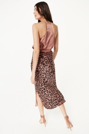 Cami NYC Racer Charmeuse Sienna - Front full body