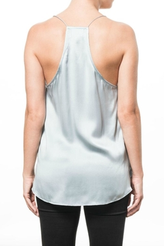 Cami NYC Racer Charmeuse Sky Top - Alternate List Image