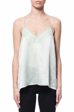 Shoptiques Product: Racer Charmeuse Tank Top