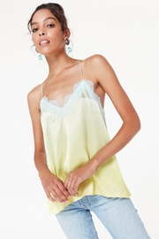 Cami NYC Racer Charmeuse Top - Product Mini Image