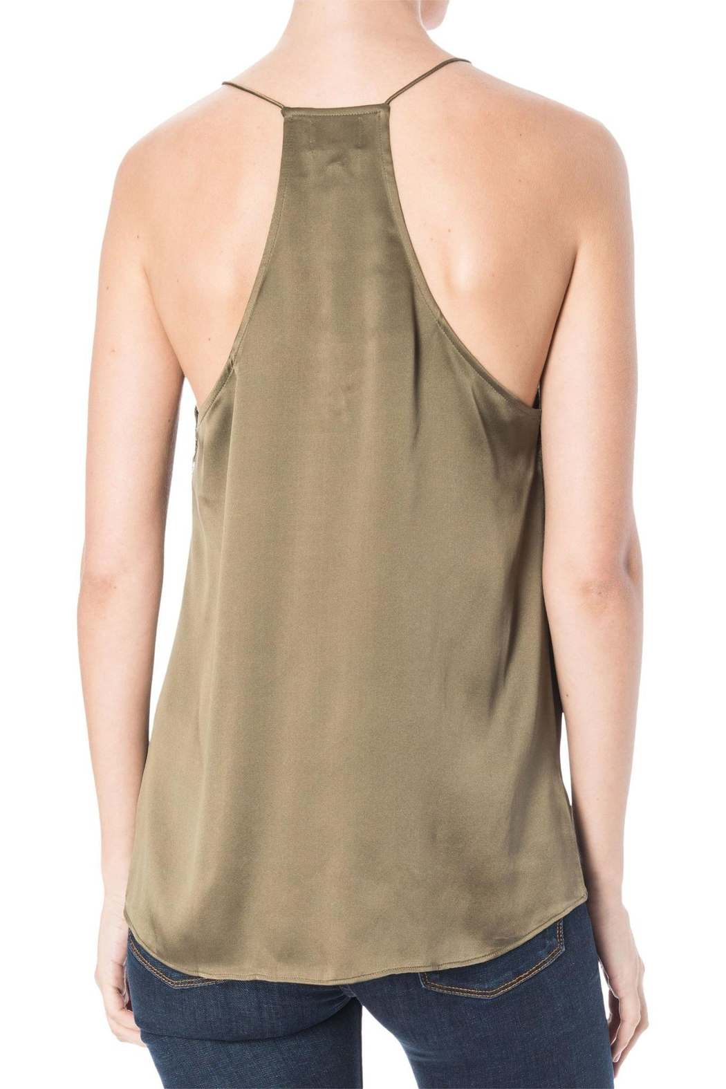 Cami NYC Racerback Charmeuse Cami Top - Front Full Image