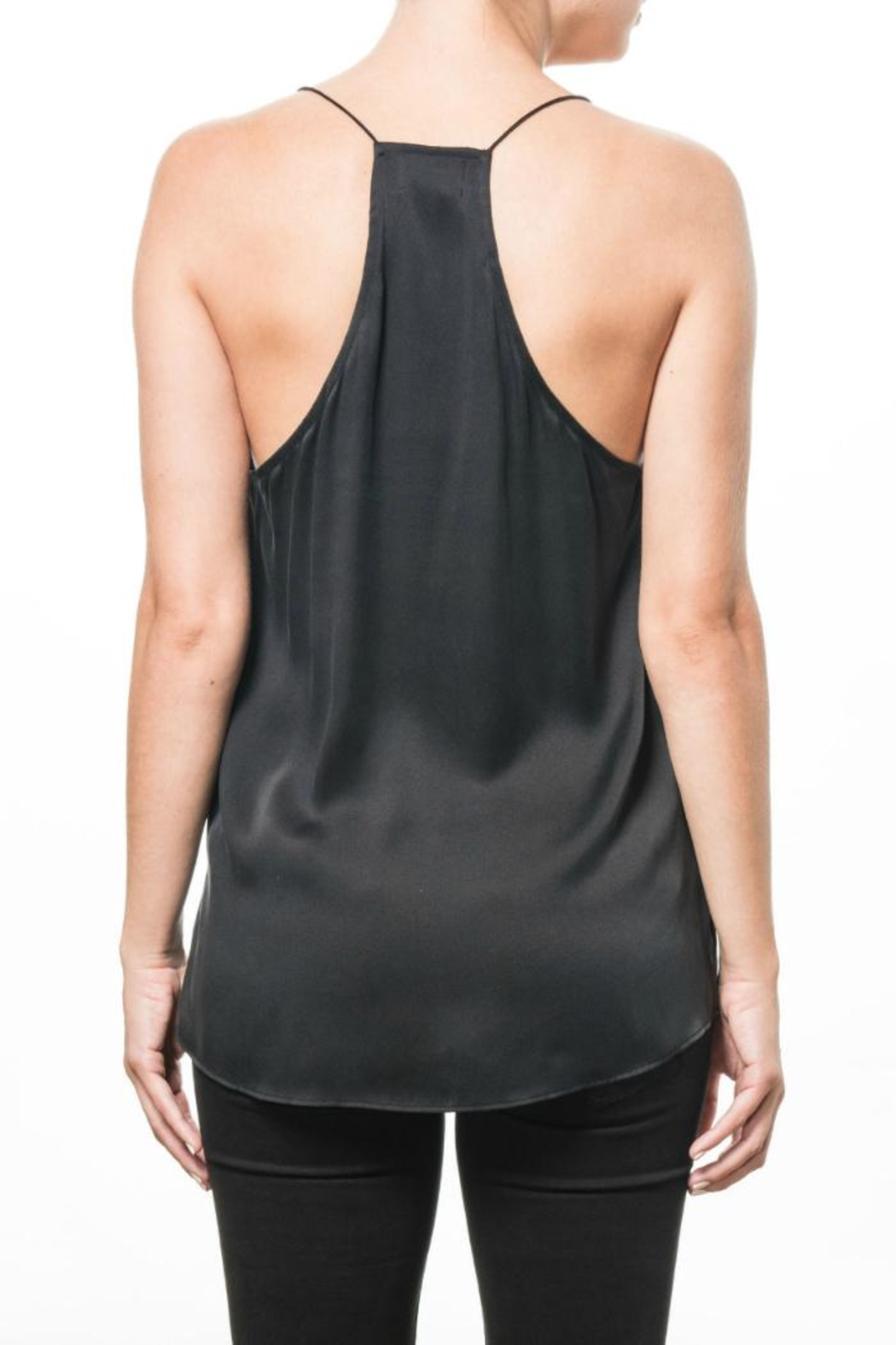 Cami NYC Stacie Top Black - Front Full Image