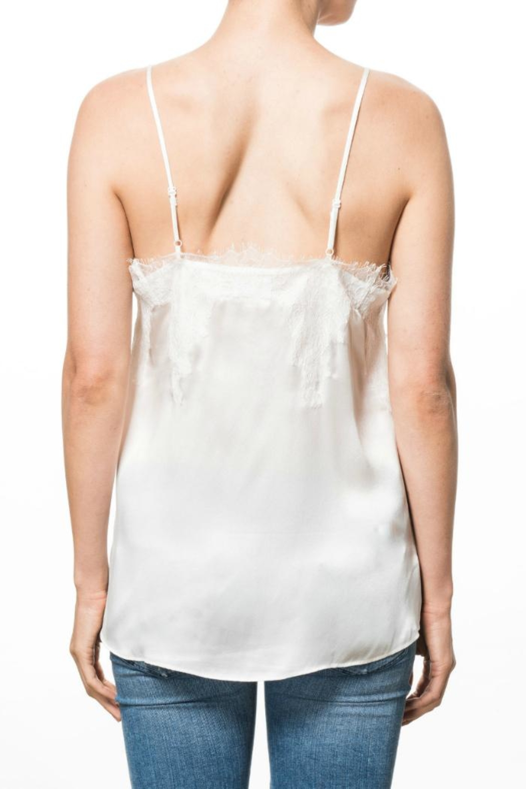 Cami NYC Sweetheart Cami White - Front Full Image