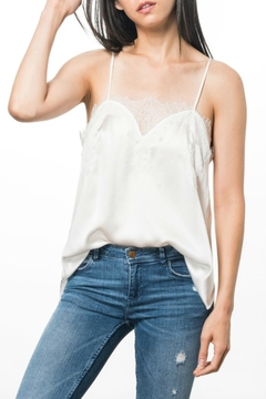Cami NYC Sweetheart Cami White - Alternate List Image