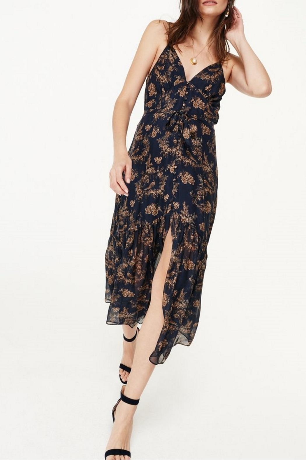Cami NYC Laurel Toile Dress - Back Cropped Image