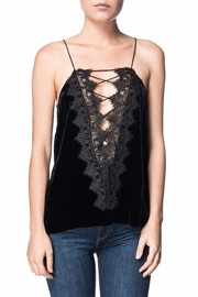Cami NYC Velvet Lace Tank - Product Mini Image
