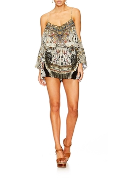 Shoptiques Product: Drop Shoulder Romper