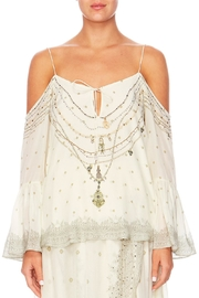 Camilla Drop Shoulder Top - Product Mini Image