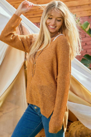 Ces Femme  Camilla Lightweight Summer Sweater - Side cropped