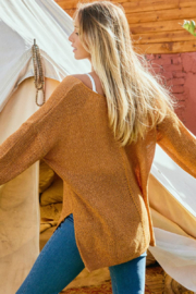 Ces Femme  Camilla Lightweight Summer Sweater - Back cropped