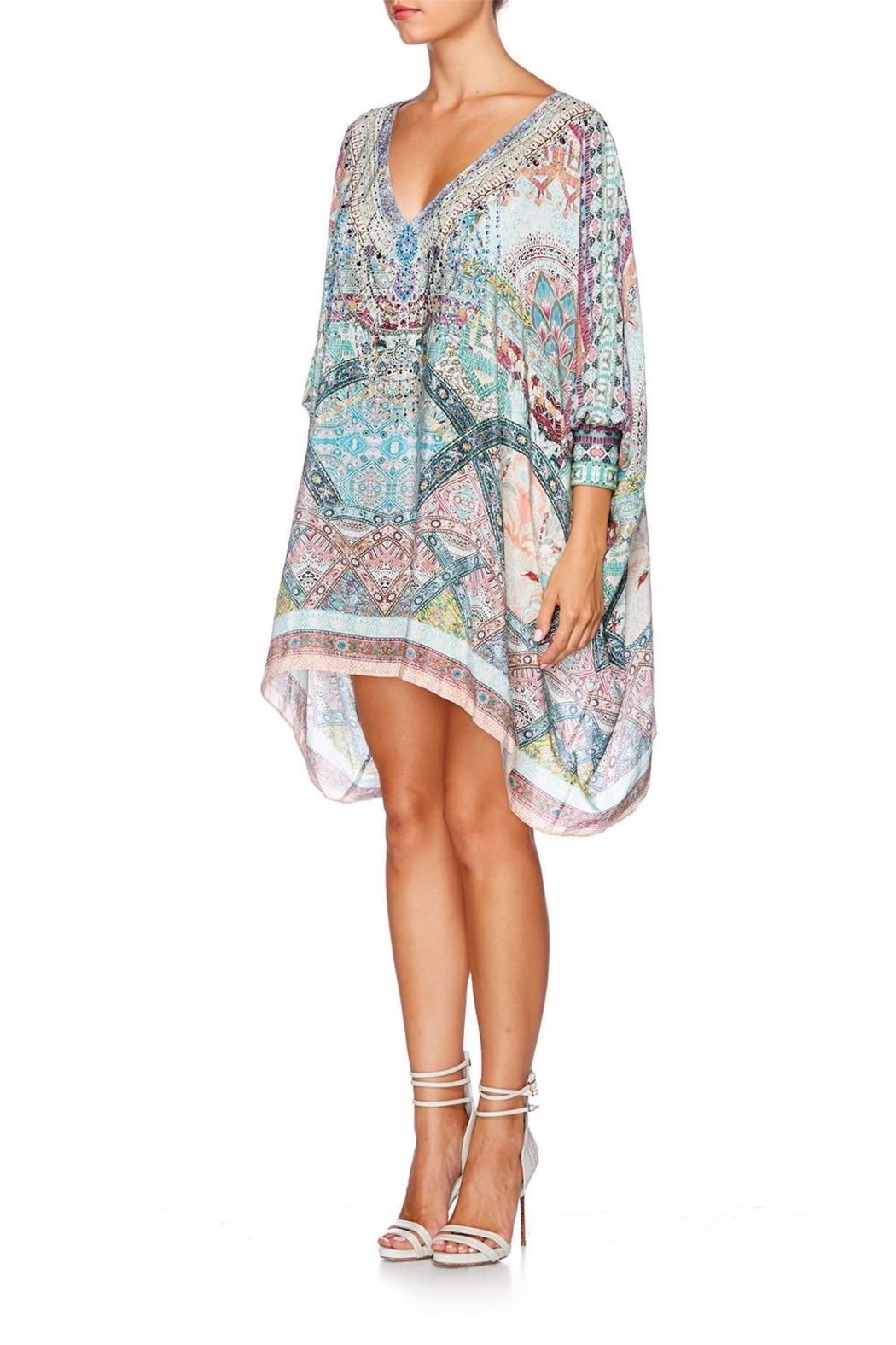 Camilla Short Kaftan Cuff - Side Cropped Image