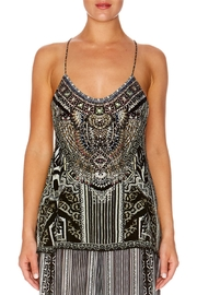 Camilla T-Back Shoestring Top - Front cropped