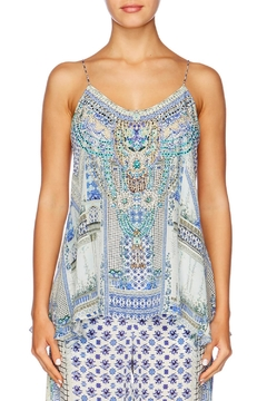Camilla T Back Shoestring Top - Product List Image