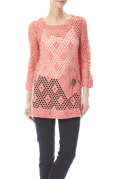 Shoptiques Product: Salmon Tunic Top