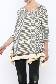 Shoptiques Product: Boho Stripe Tunic