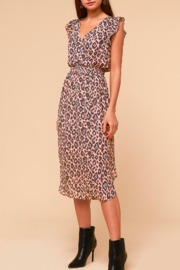 Adelyn Rae Camille Animal-Print Dress - Side cropped