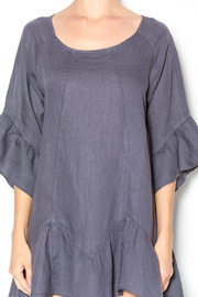 Camille Charcoal Linen Tunic Dress - Other