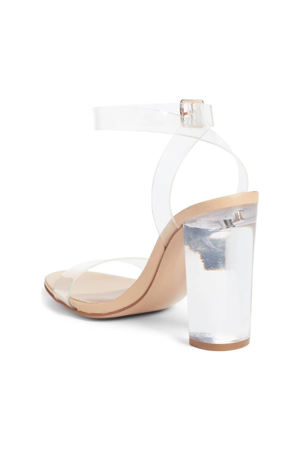 b7c44d1c94f Steve Madden Camille Clear Sandal from Texas by y i clothing ...