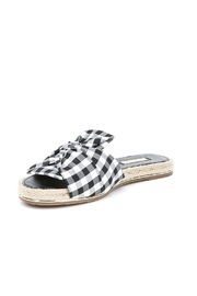 Louise Et Cie  Camille Gingham Slide - Product Mini Image