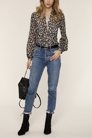 Heartloom Camille Leopard Blouse - Product Mini Image