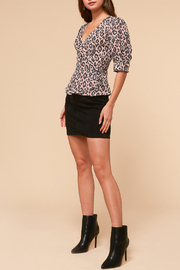 Adelyn Rae Camille Wrap Front Blouse - Side cropped