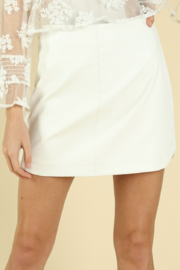 Wild Honey Camille Round Hem Skirt - Product Mini Image