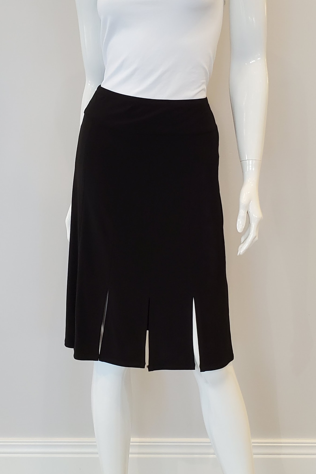 Andria Lieu Camille Skirt, Black - Front Cropped Image