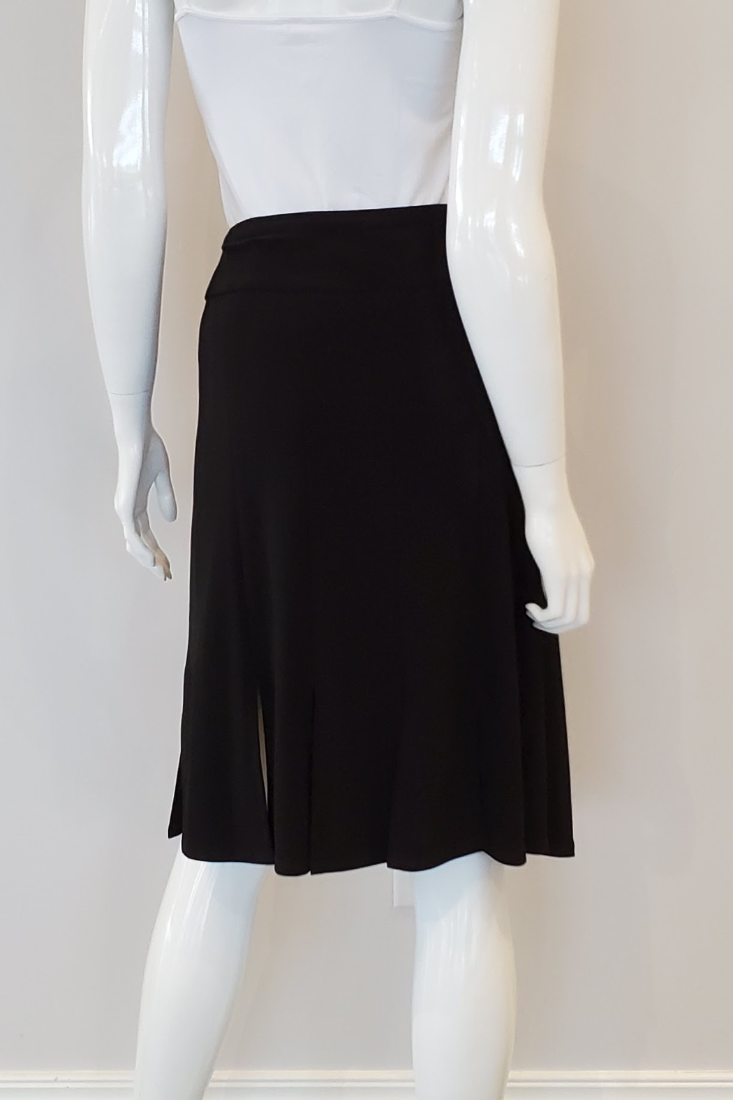 Andria Lieu Camille Skirt, Black - Front Full Image