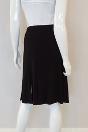 Andria Lieu Camille Skirt, Black - Front full body