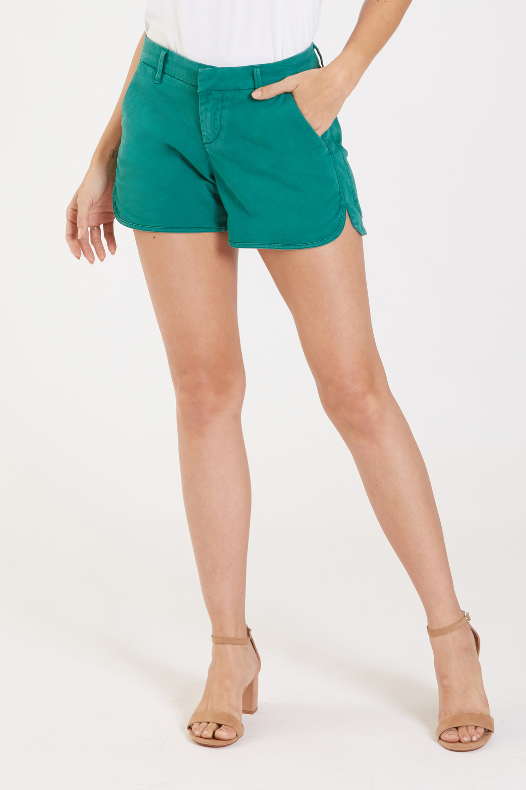 Dear John Camille Trouser Tulip Short - Front Cropped Image