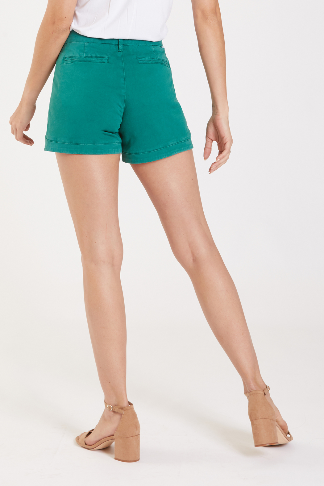 Dear John Camille Trouser Tulip Short - Side Cropped Image
