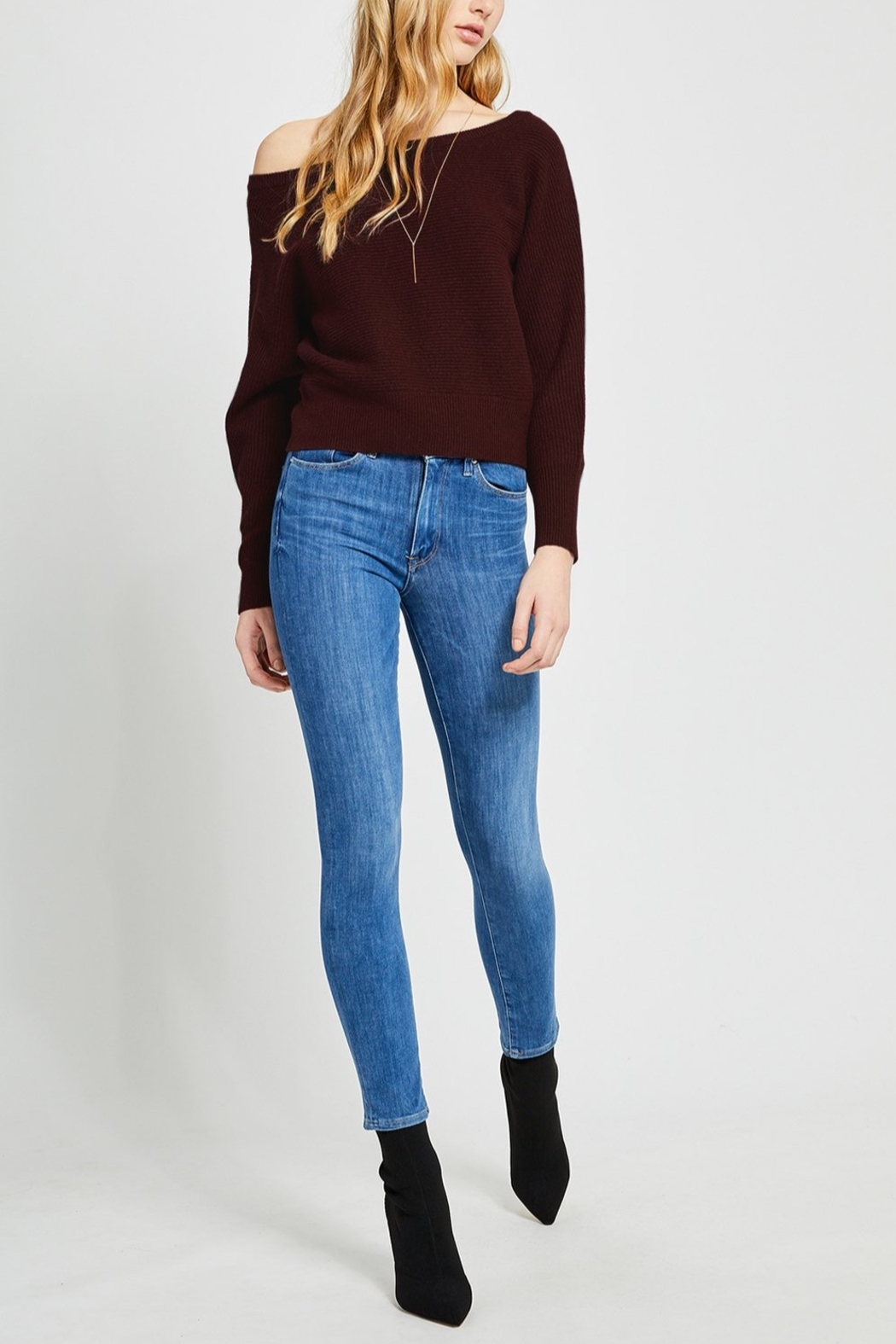 Gentle Fawn Camillo Off Shoulder Sweater - Front Cropped Image