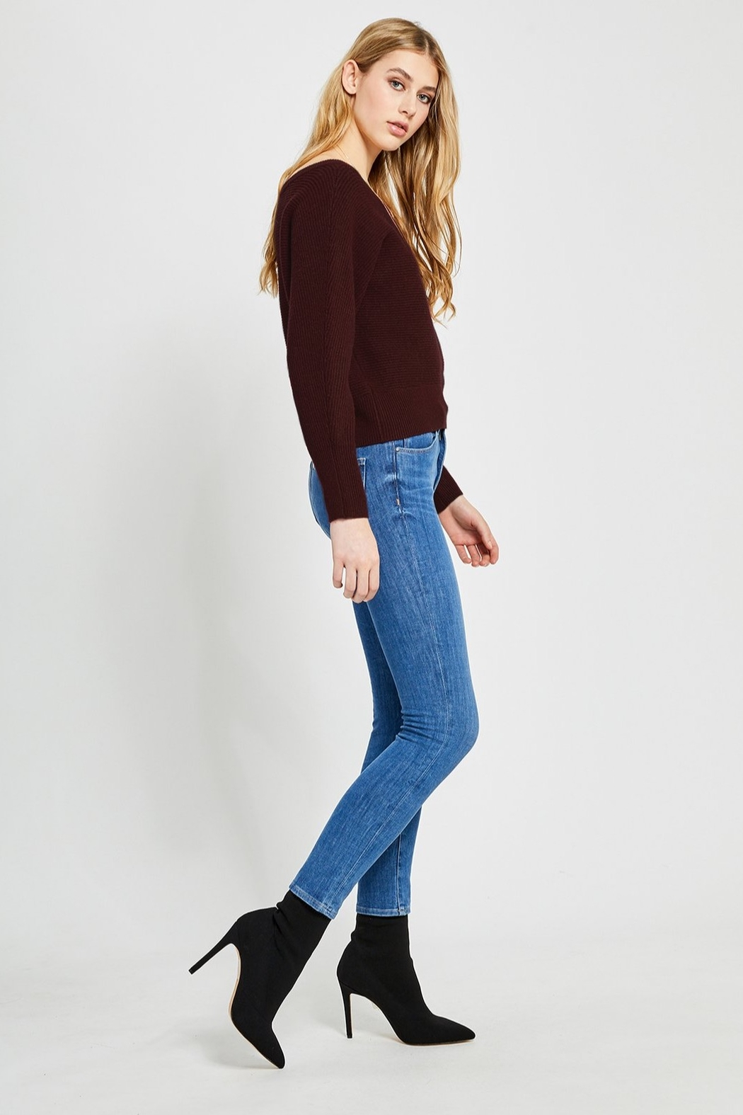 Gentle Fawn Camillo Off Shoulder Sweater - Front Full Image