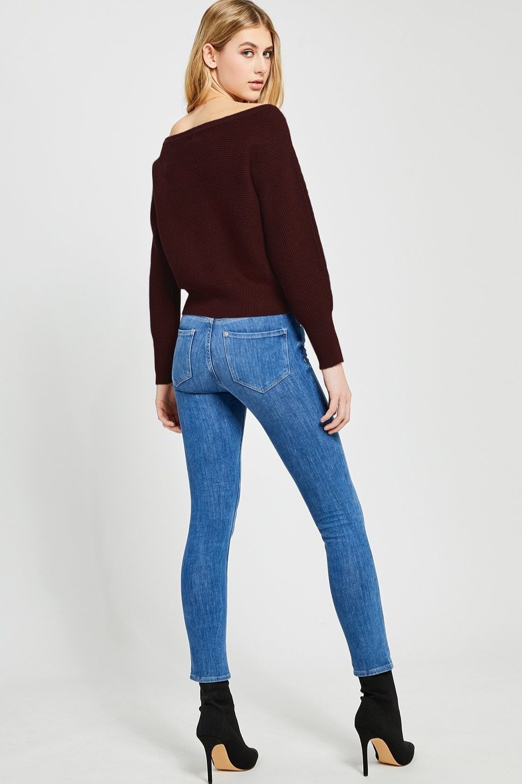 Gentle Fawn Camillo Off Shoulder Sweater - Side Cropped Image
