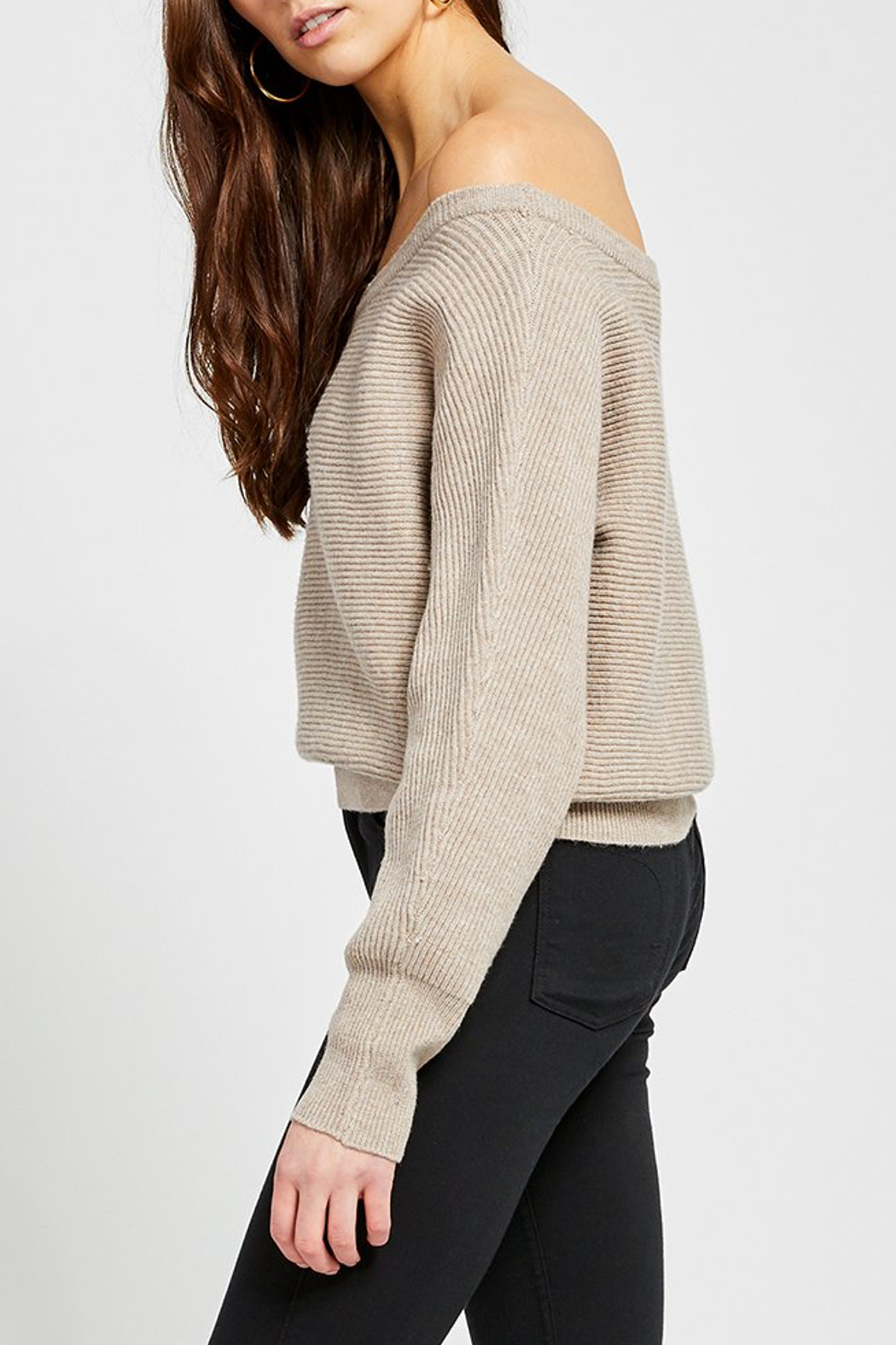 Gentle Fawn Camillo Wide Neck Sweater - Front Full Image